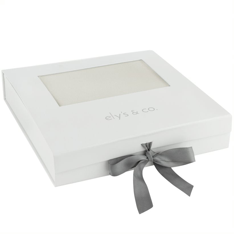 Ely's & Co. Ivory & Terracotta Layette Gift Box