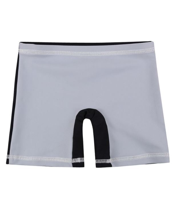 Turtledove Slate Colorblock Surf Shorts