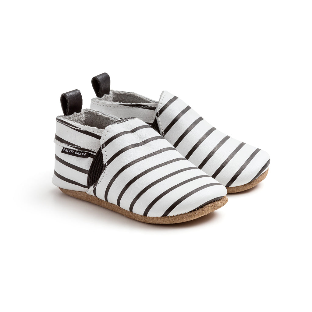 Pretty Brave Stripe Slip-On Moc