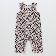 Hatch'D Pink Dot Print Romper