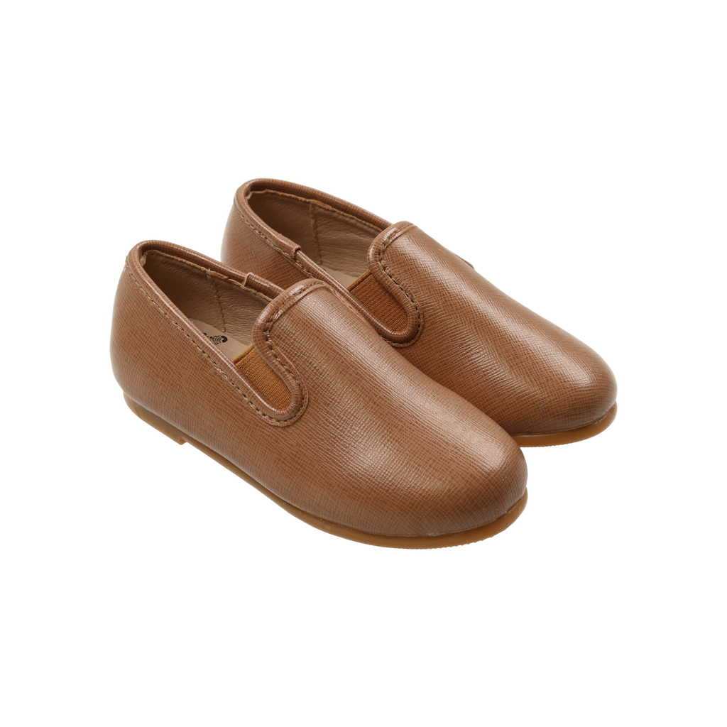 Zeebra Kids Almond Classic Leather Loafer