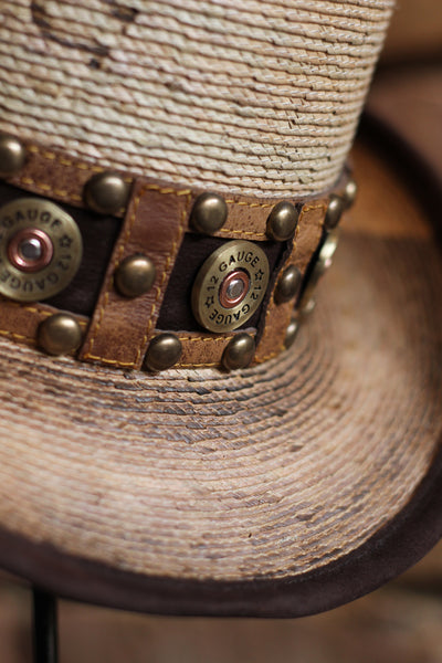 Charlie One Horse Quick Draw Steampunk Shotgun Shell Band