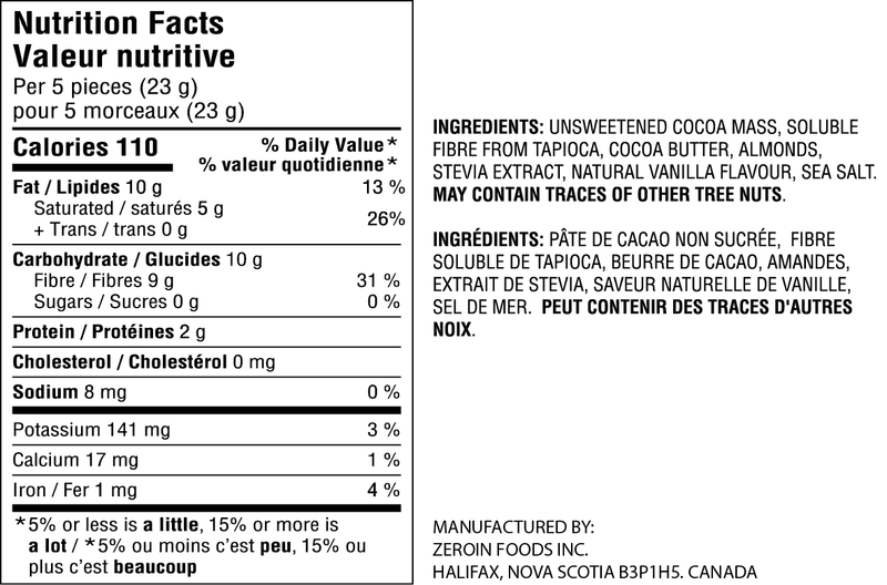 products/ZeroINDarkChocolateAlmondBites-SugarFree_LowCarb-NutritionalInformation.png