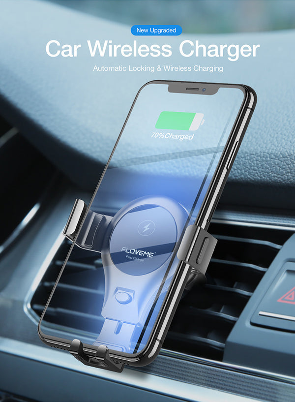 Qi Car Wireless Charger For Mobile Phone