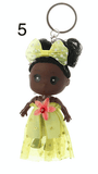 Unlimited Beauty Care Accessories 5 Doll in Dress Keychain