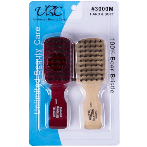 Unlimited Beauty Care Accessories Boar Bristle Hair Brush - 2 pieces