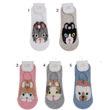 Unlimited Beauty Care Accessories Cat Face Cotton Socks
