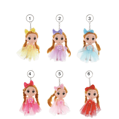 Unlimited Beauty Care Accessories Little Doll Keychain