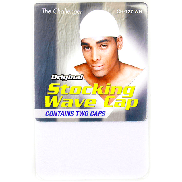 Unlimited Beauty Care Accessories MAXIM Stocking Wave Cap - White- (includes 2 caps)
