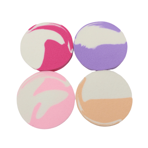 S.he Makeup Accessories S.he Makeup Sponge Set - Dyed Circles