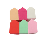 S.he Makeup Sponge Set - House Shapes