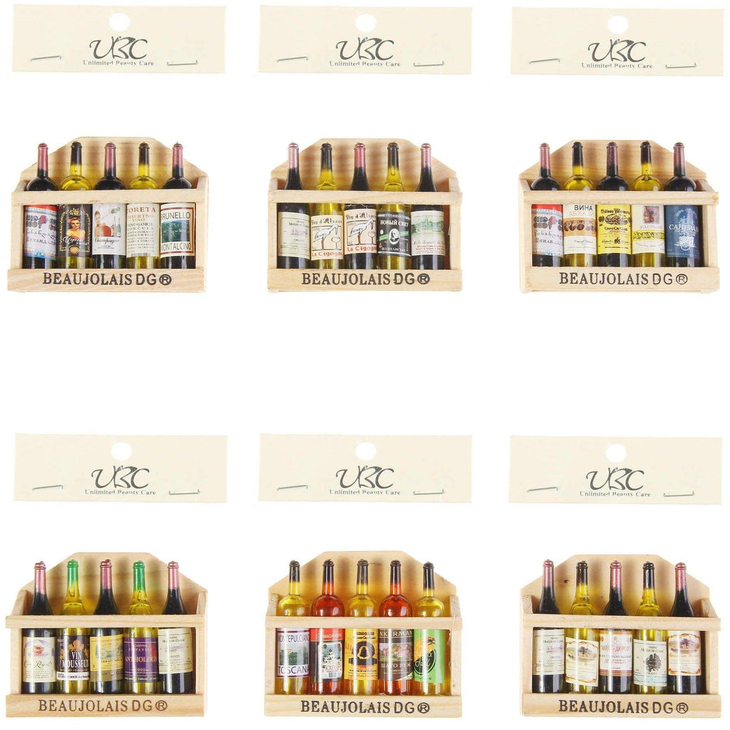 Unlimited Beauty Care Accessories Wine Bottle Fridge Magnet