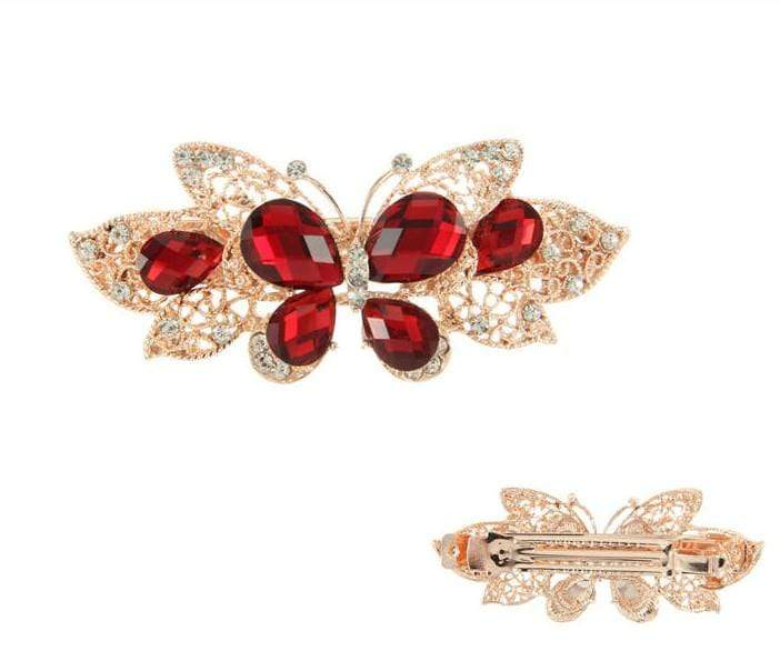 Unlimited Beauty Care Barrettes Butterfly Metal Hair Barrette