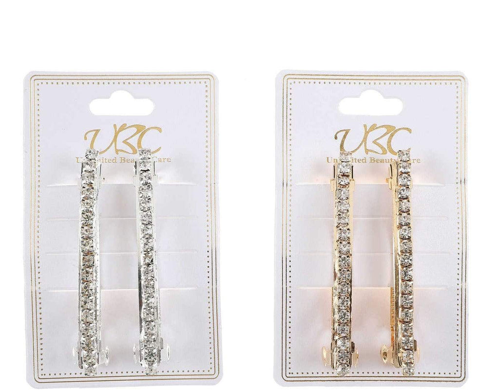 Unlimited Beauty Care Barrettes English Metal Pearl Barrettes