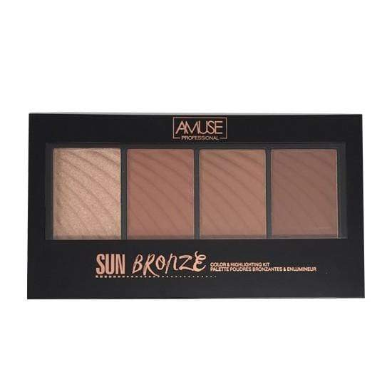 Amuse Bronzer Amuse Sun Bronze Color & Highlighter Kit