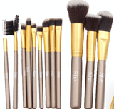 S.he Makeup 12 piece Brush Set