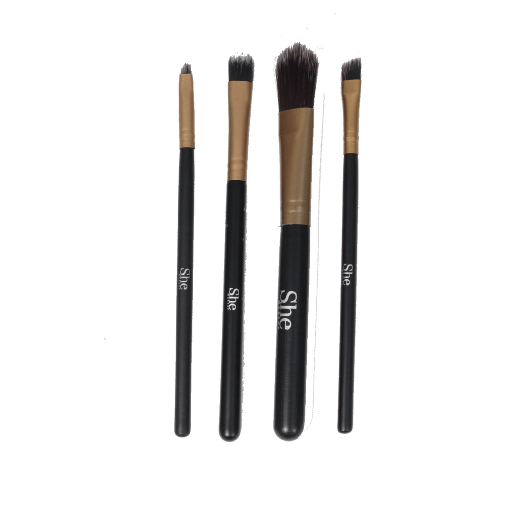 S.he Makeup Brushes S.he Makeup 4-piece Brush Set
