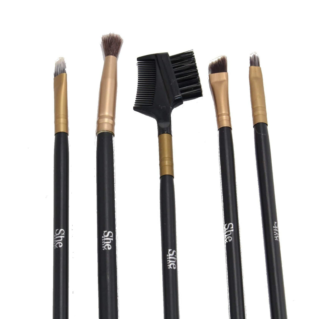 S.he Makeup 5-piece Brush Set