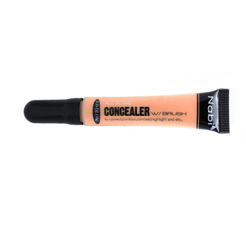 Nabi Cosmetics Concealer Nabi Ivory Concealer All In One with Brush