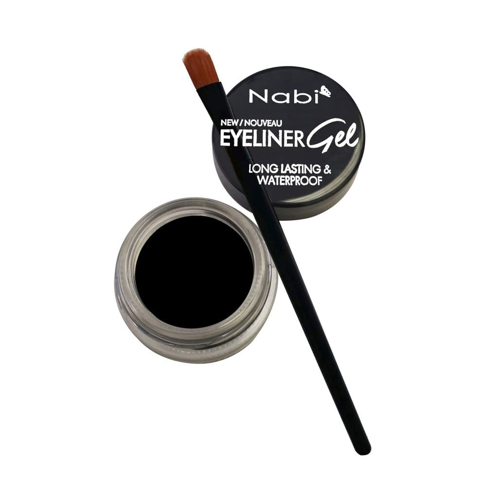 Nabi Cosmetics Eyeliner Black Nabi Long Lasting & Waterproof Eyeliner Gel