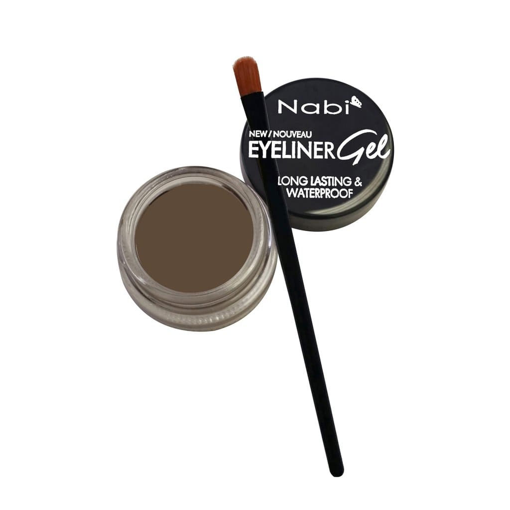 Nabi Cosmetics Eyeliner Dark Brown Nabi Long Lasting & Waterproof Eyeliner Gel