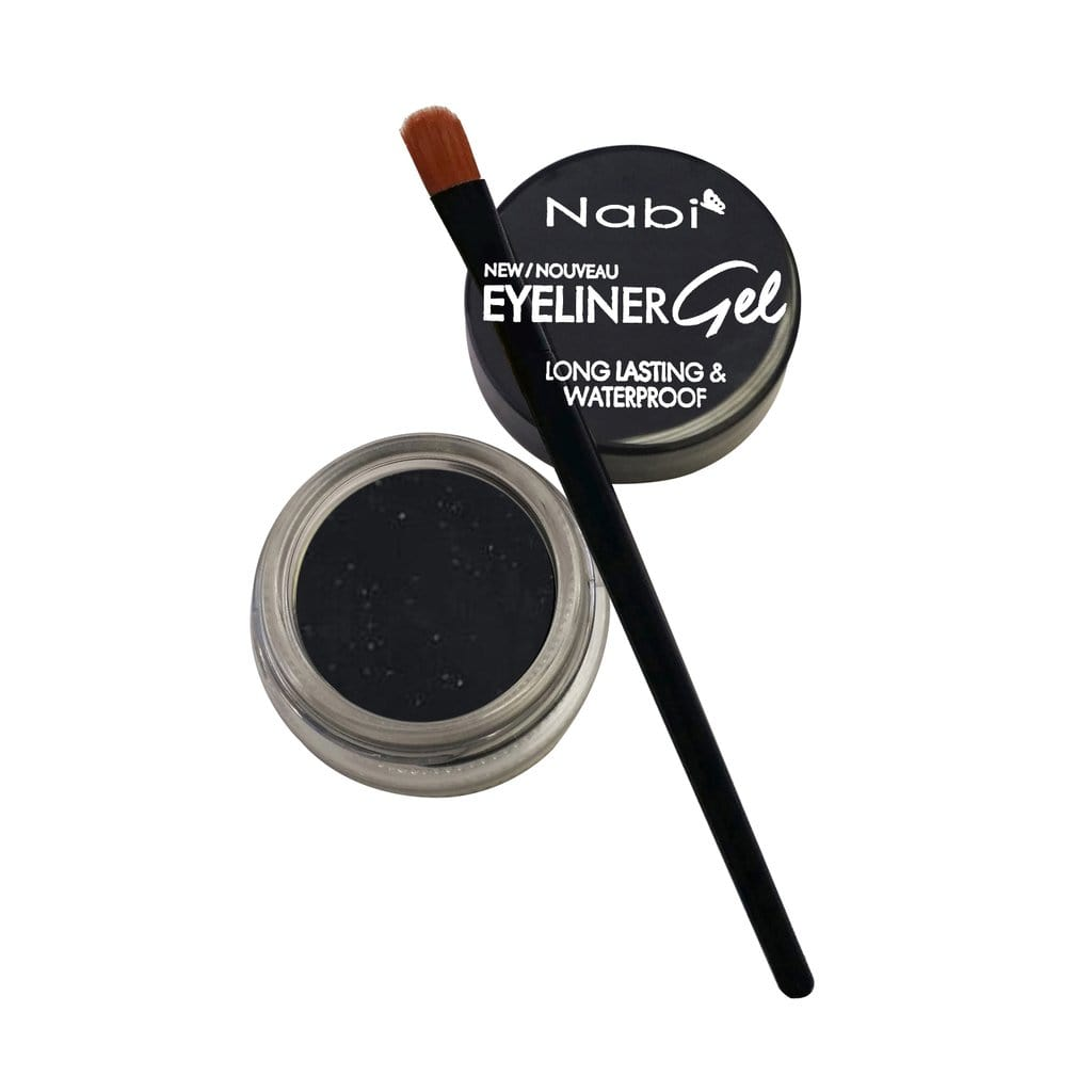 Nabi Cosmetics Eyeliner Jet Black Nabi Long Lasting & Waterproof Eyeliner Gel