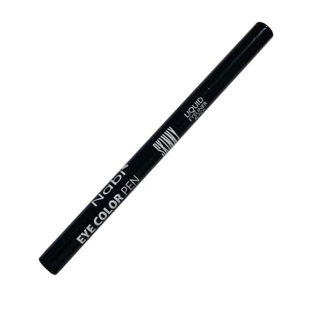 Nabi Waterproof Skinny Liquid Eyeliner (Black)