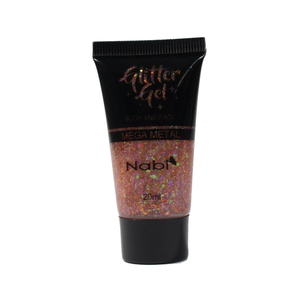 Nabi Cosmetics Eyeshadow Nabi Glitter Gel - Orange