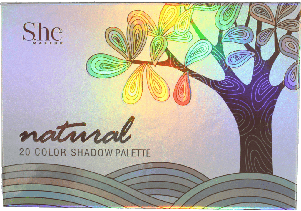 "S.he Makeup ""Natural"" 20-Color Palette"