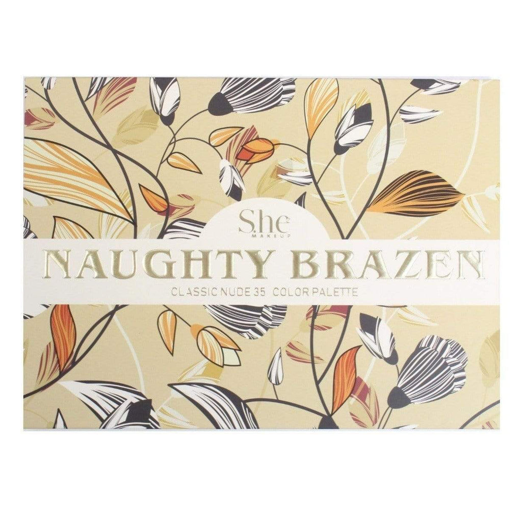 "S.he Makeup Eyeshadow S.he Makeup ""Naughty Brazen"" 35-Color Eyeshadow Palette"
