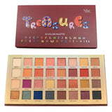 "S.he Makeup Eyeshadow S.he Makeup ""Treasures 32 Color Palette"