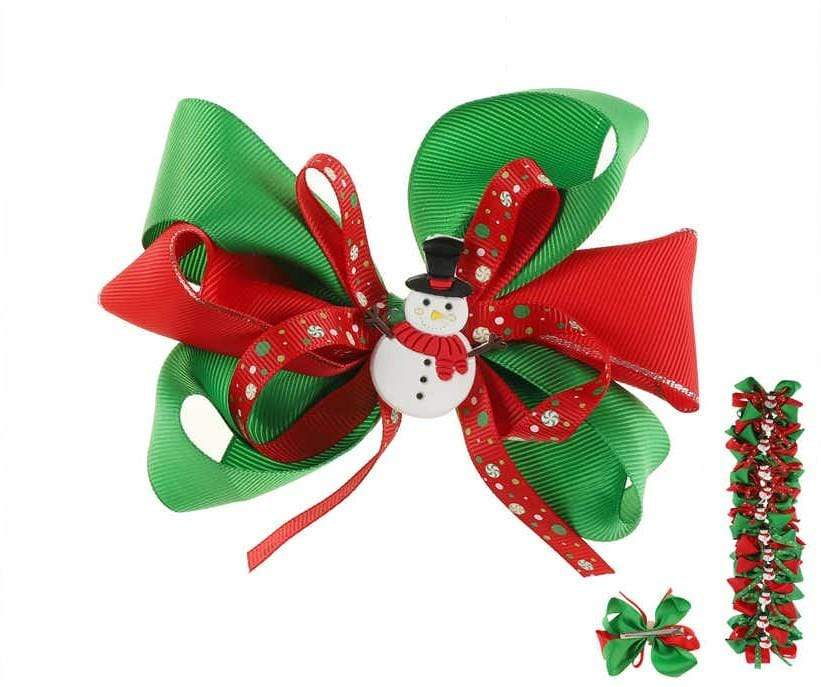 Unlimited Beauty Care Hair Bows Christmas Holiday Hair Bows
