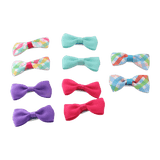 Unlimited Beauty Care Hair Clips 1 Hair Bow Clips - Multicolor (10 pieces)