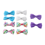 Unlimited Beauty Care Hair Clips 2 Hair Bow Clips - Multicolor (10 pieces)