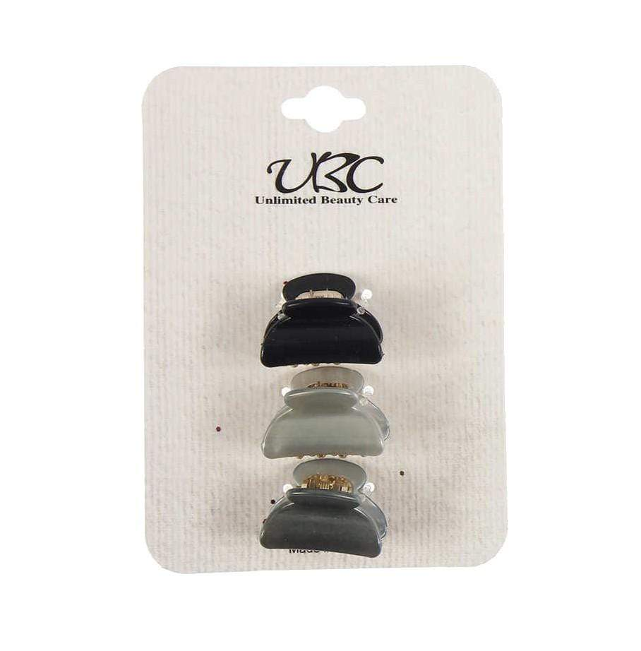 Unlimited Beauty Care Hair Clips 3-piece Small Hair Clips