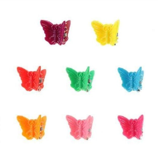 Unlimited Beauty Care Hair Clips Butterfly Mini Hair Clips