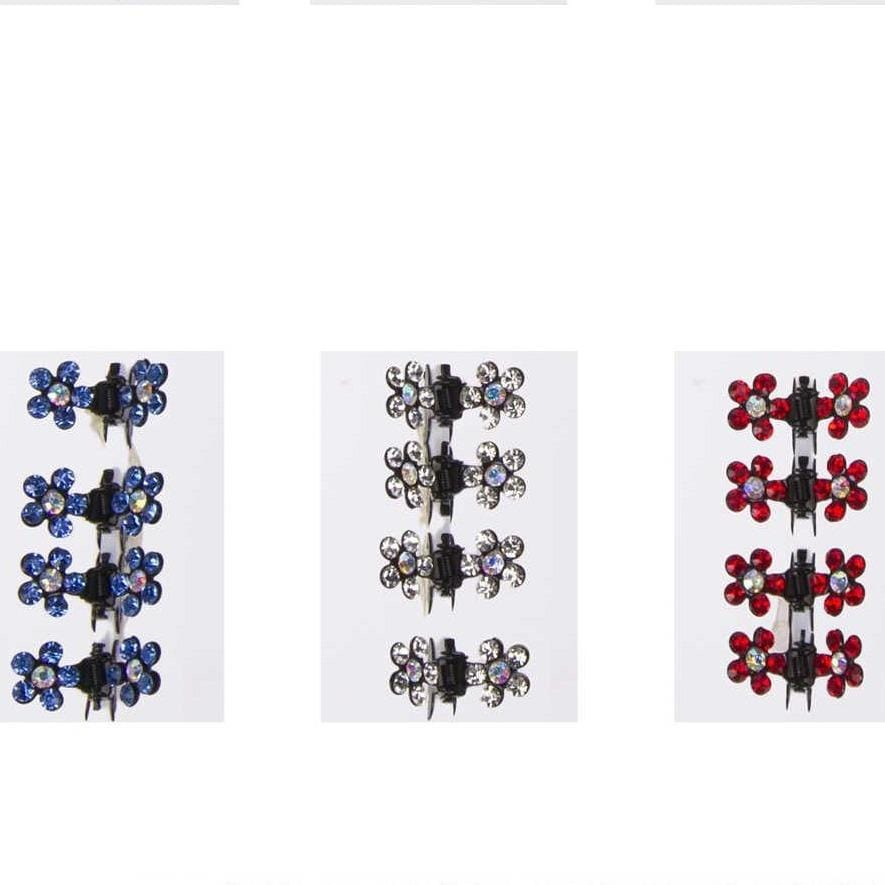Unlimited Beauty Care Hair Clips Decorative Mini Flower Hair Clips