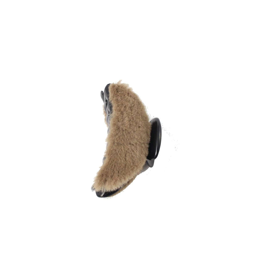 Unlimited Beauty Care Hair Clips Light Brown Fur Hair Claw Clips