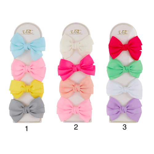 Unlimited Beauty Care Hair Clips Multicolor Hair Bow Clips