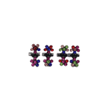 Unlimited Beauty Care Hair Clips Multicolor Mini Flower Hair Clips