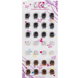 Unlimited Beauty Care Hair Clips Natural Colors Mini Hair Clips