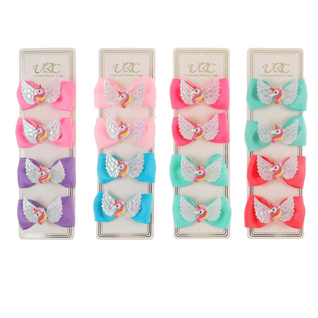 Unlimited Beauty Care Hair Clips Unicorn Hair Clips