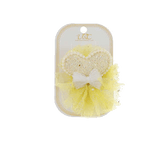 Unlimited Beauty Care Hair Clips Yellow Heart + Pearl Hair Clip Set