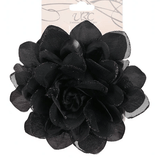Unlimited Beauty Care Hair Snaps Black Flower Hair Snap