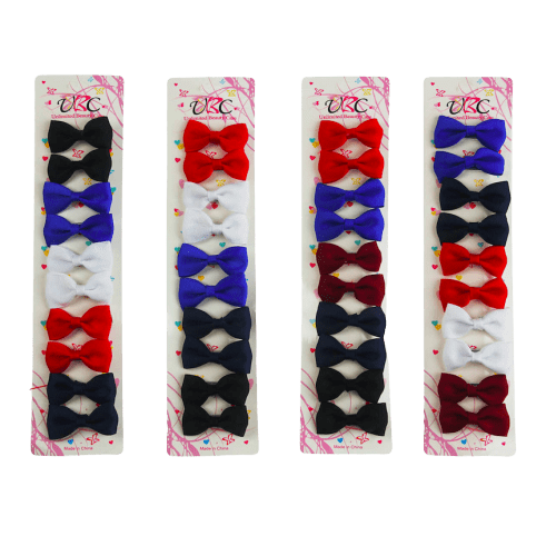 Unlimited Beauty Care Hair Snaps Red/Blue/White/Burgundy Hair Metal Snap