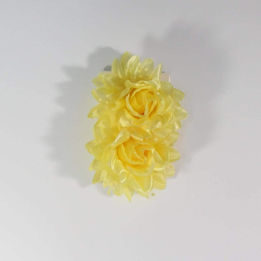 Unlimited Beauty Care Hair Snaps Yellow Flower Hair Snap