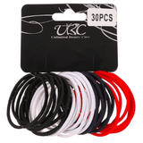 Unlimited Beauty Care Hair Ties Black/Red/White/Navy Blue Hair Ties