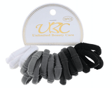 Unlimited Beauty Care Hair Ties Hair Ties- Black/Gray/White (18 PCS)