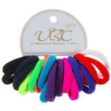 Unlimited Beauty Care Hair Ties Hair Ties- Multicolor (18 PCS)