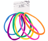 Unlimited Beauty Care Hair Ties Long Hair Ties - Light Colors (6 pieces)